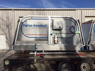 our horse treadmills are portable and easy movable