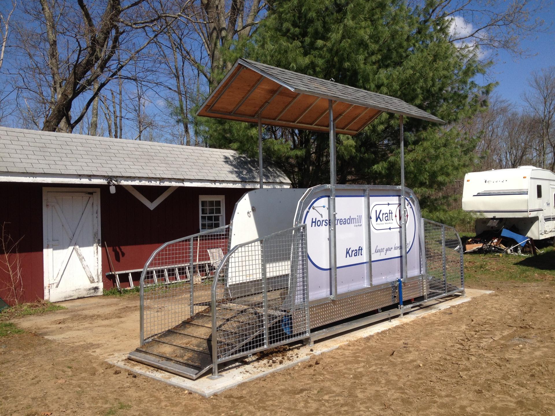 horse treadmill Limelight Farm, NY