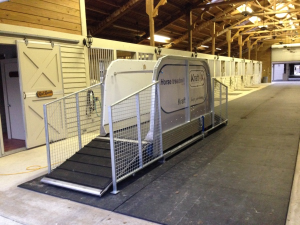 Horse Treadmill at Sons of the Winds