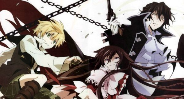 Pandora Hearts manga - Adventures in A Wonderland!