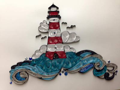 Quilled Lighthouse
