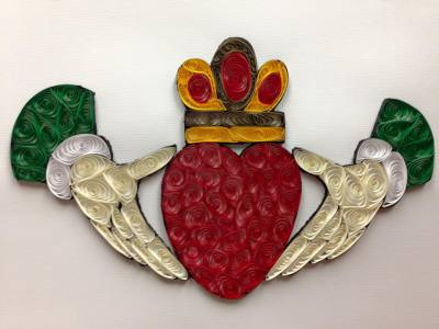 Quilled Claddagh