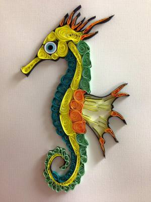Quilled Seahorse