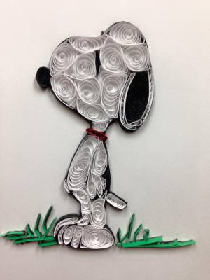 Quilled Snoopy