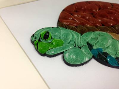 Quilled Sea Turtle