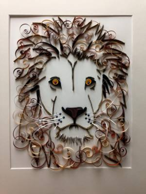 Quilled Lion