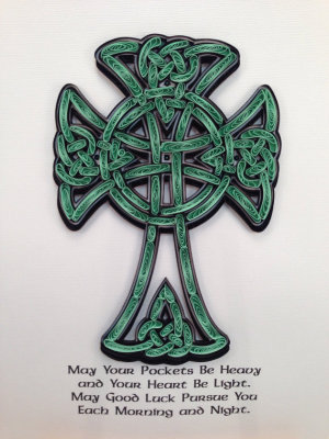 Quilled Celtic Cross