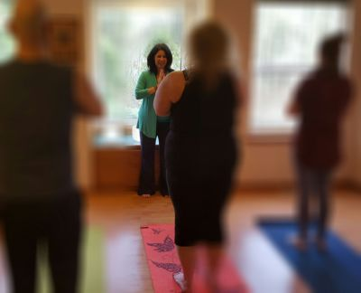 Kym Detwiler-O'Reilly Teaching at Shanti Living Wellness