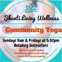 Donation Yoga, Community Yoga