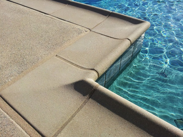 Pool Copping and Decking