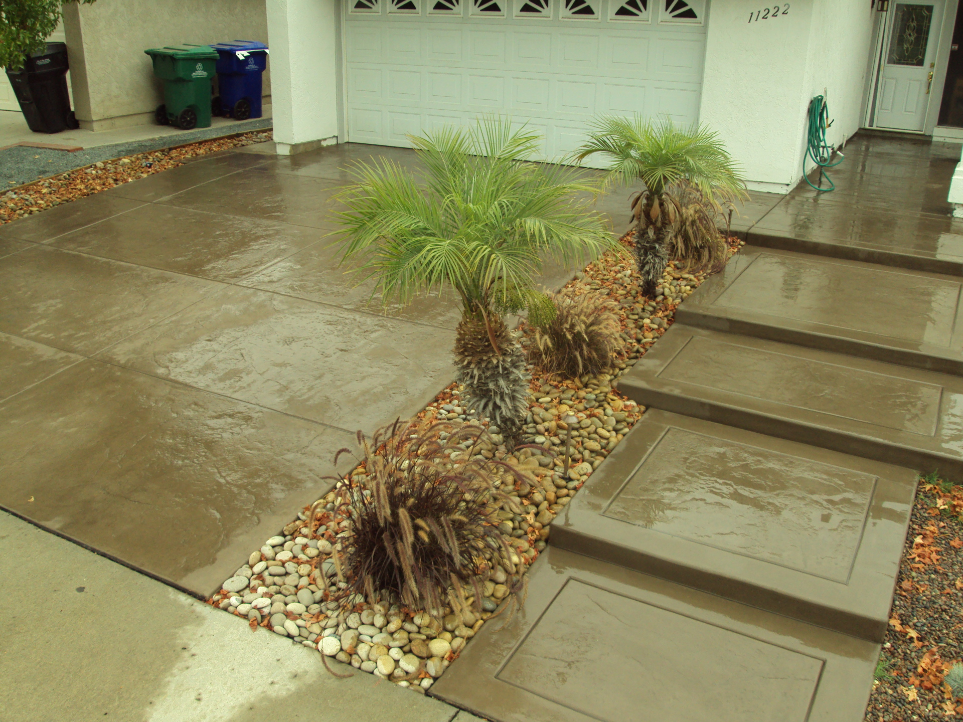 Stamped Concrete, Outdoor Kitchens chula vista, patio covers chula vista, aluminum patio covers, outdoor entertainment areas,
