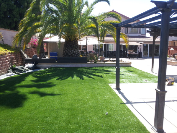 Artificial Turf Installation, Bull Residence