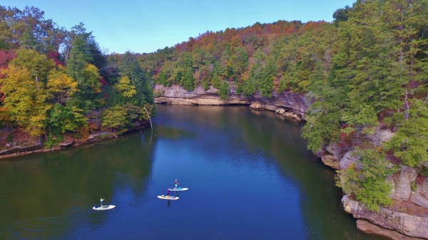 grayson lake, grotto falls, sup kentucky, sup, supky