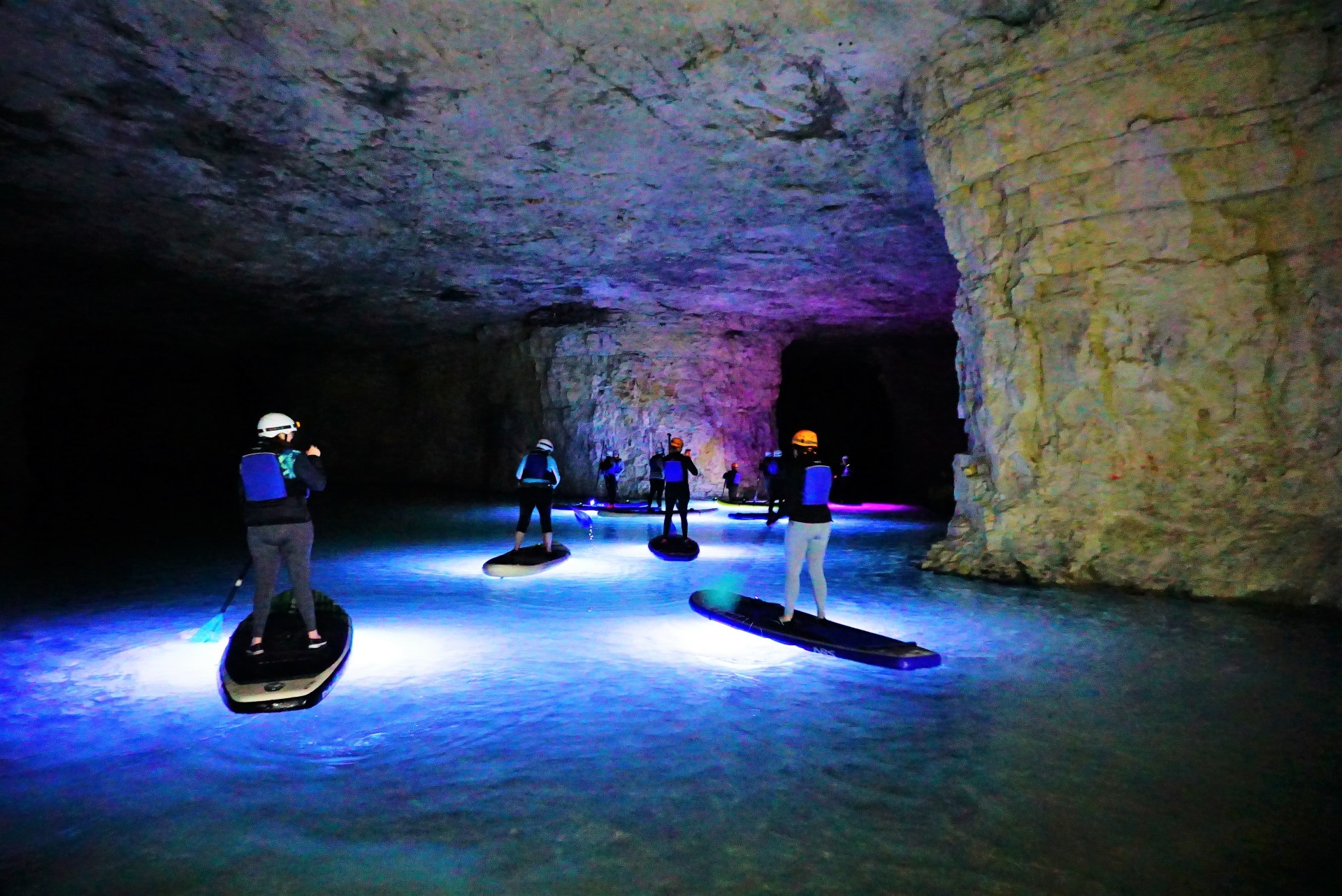 Paddleboard kentucky, Cavern glow, SUP KY, Stand up Paddle