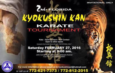 2nd Florida Kyokushin Kan Karate Tournament