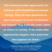 Potential of Persons with Disabilities quote