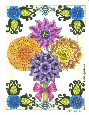 Image from Flower and Dreams, Colorist: Shirley Olson