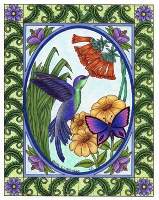 Colorist: Virginia Sanders Cole, USA