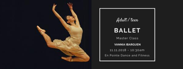 Ballet Master Class - Nutcracker Edition!