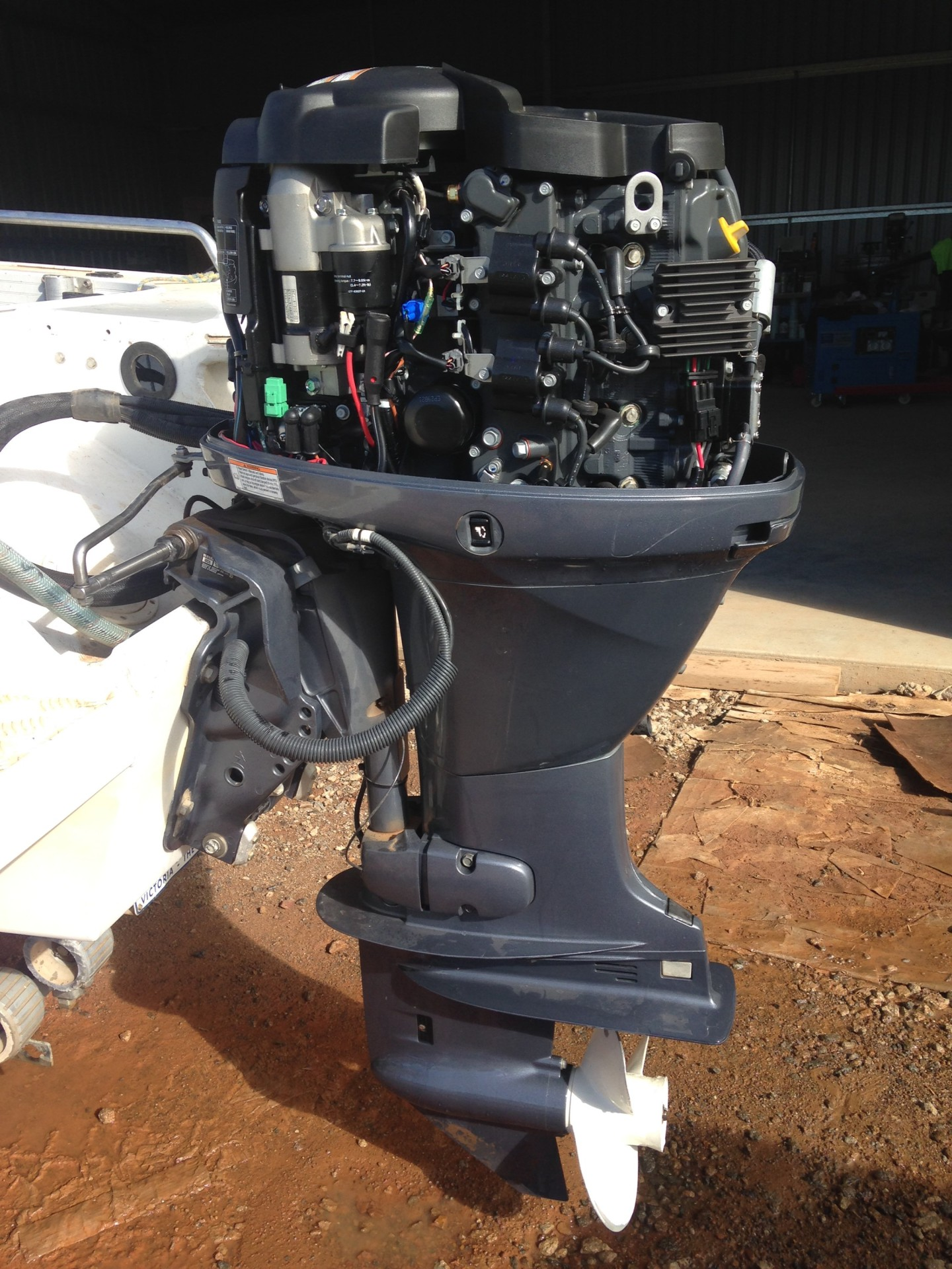 Boat Repairs, Statewide Marine Services, Mansfield Victoria
