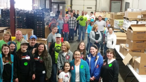 GO Box packing event