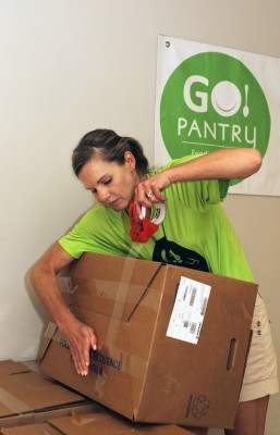 St. Elizabeth and GO Pantry Team Up