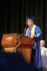 Honor Graduate Cadet Samuel Moran
