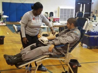 First Semi-Annual Blood Drive a Success!