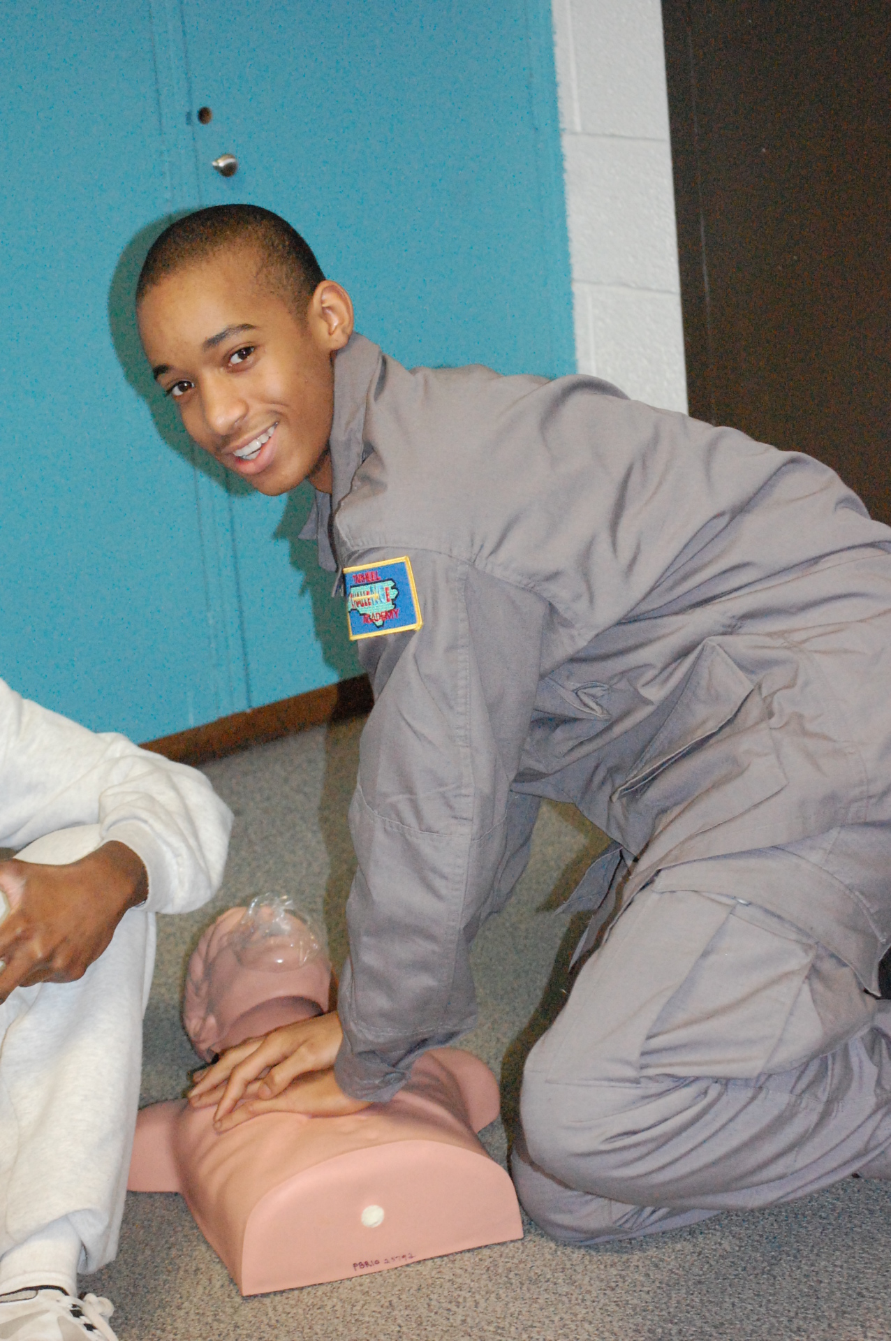 First Aid and CPR Certification for Cadets