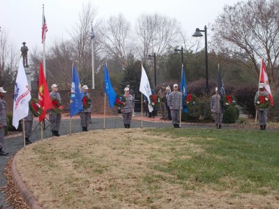 2016 Liberty Square Wreath Ceremony