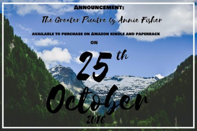 Announcement! The Greater Picture Release Date!