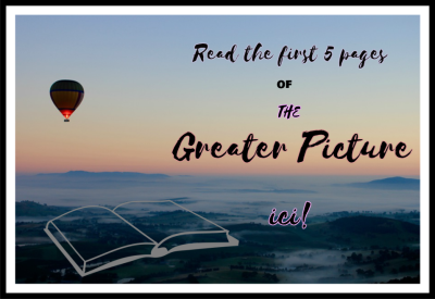Read the First 5 Pages of The Greater Picture now!