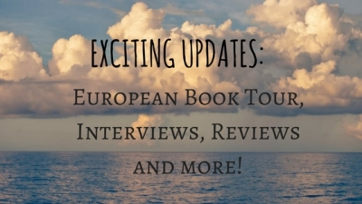 Big News! INCL. European Book Tour beginning today!