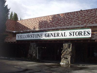 Yellowstone General Store