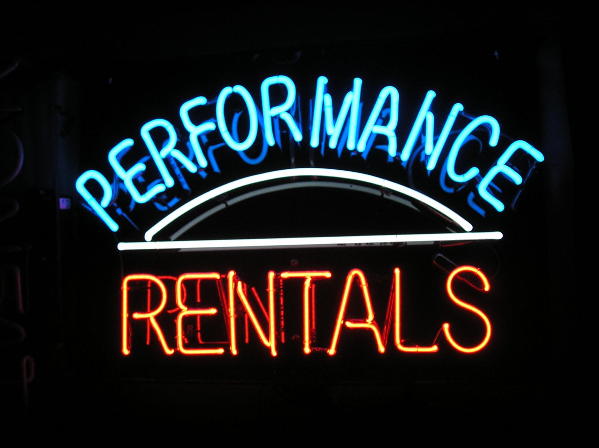 Performance Rentals