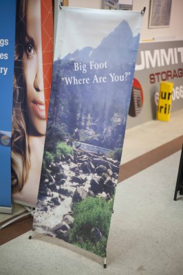 An example of the stand style banners we offer