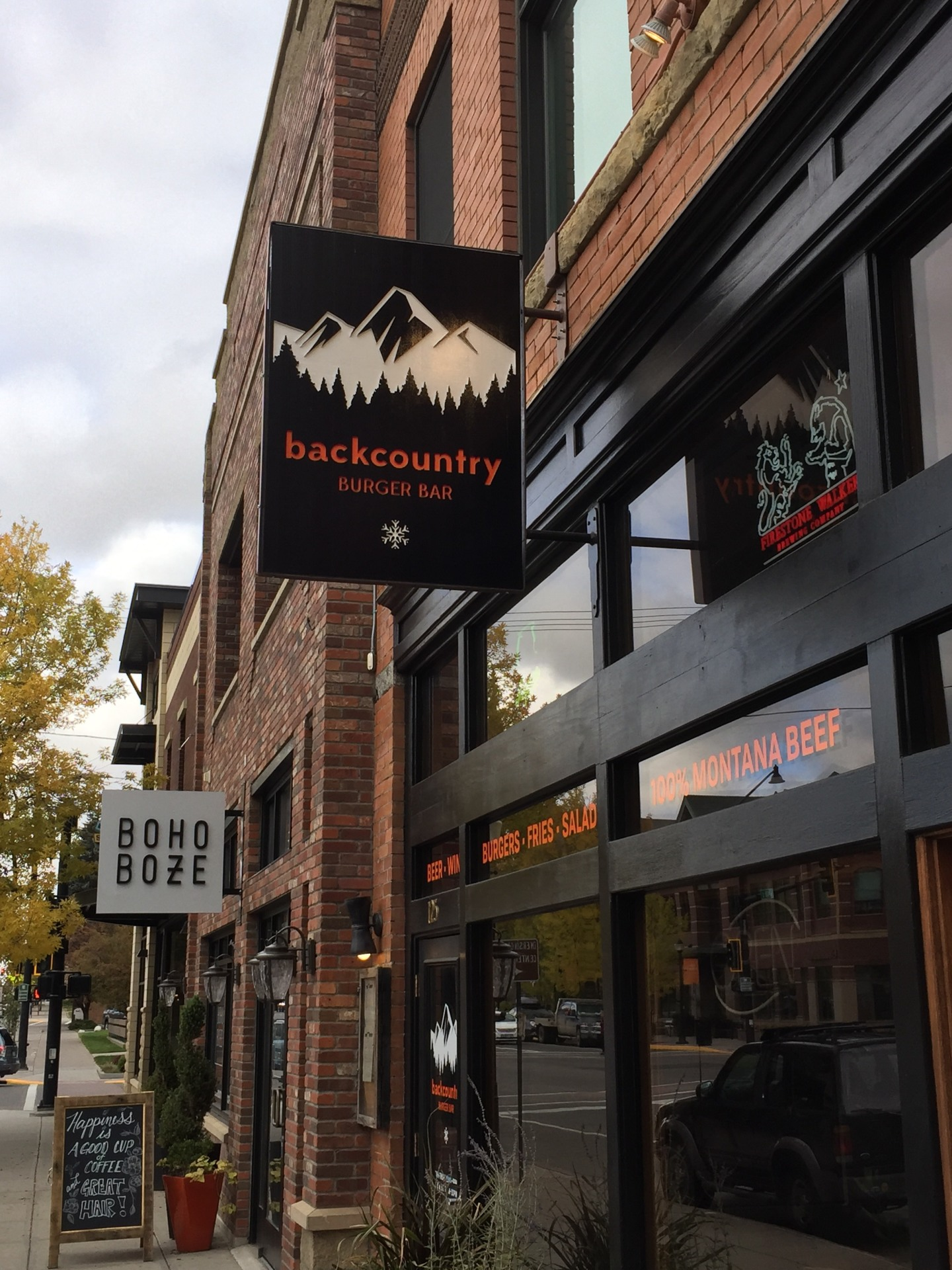 Backcountry Burger Bar