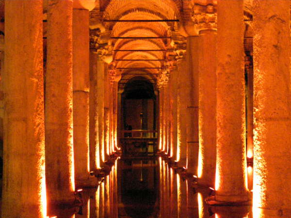 The Basilica Cistern is my favorite Istanbul site, often missed by tourists. Turkey: annmariemershon.com