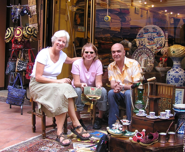 Polly and I loved exploring Istanbul, and discovering new friends. Turkey: annmariemershon.com