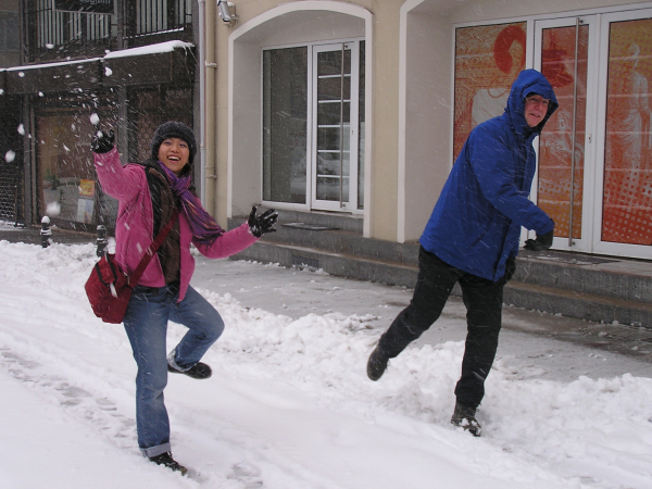 And of course, who can resist a snowball fight? chapter 27, You must only to love them. http://mershon.wordpress.com