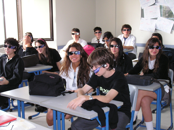 There's nothing like a classroom of totally blinded ninth graders. Istanbul, Turkey: chapter 32, You must only to love them. http://mershon.wordpress.com