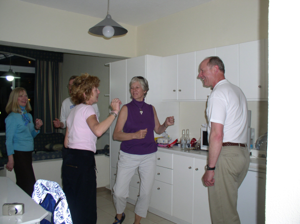 Dancing in the kitchen—on Rhodos.Rhodes, Greece: chapter 33, You must only to love them. http://mershon.wordpress.com