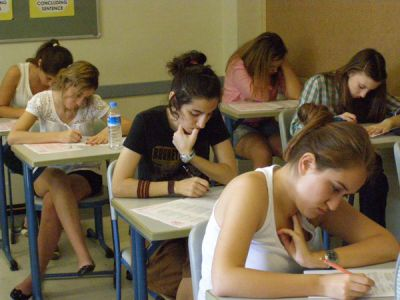 Istanbul's Koç students take testing seriously. I could feel the tension in the room. Istanbul, Turkey: annmariemershon.com