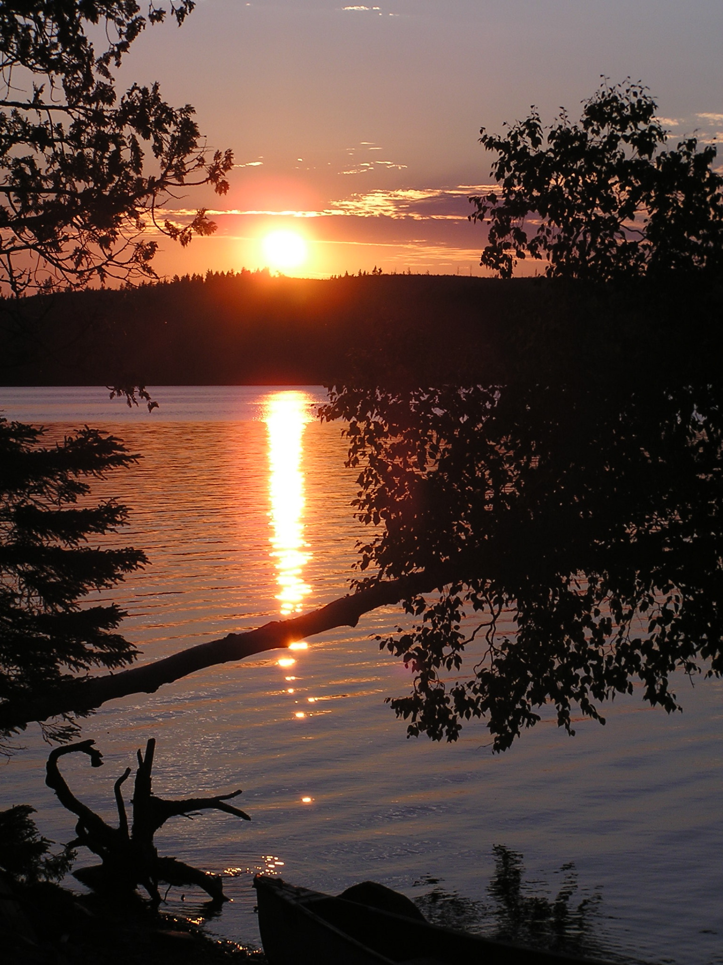 I couldn't resist including this shot from a canoe trip that summer. Grand Marais, MN, BWCAW: chapter 38, You must only to love them. http://mershon.wordpress.com
