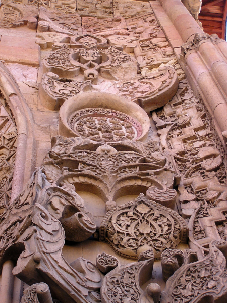 These stunning Selçuk carvings surround the Divriği portals. Kemaliye & Divriği, Turkey: chapter 41, You must only to love them. http://mershon.wordpress.com