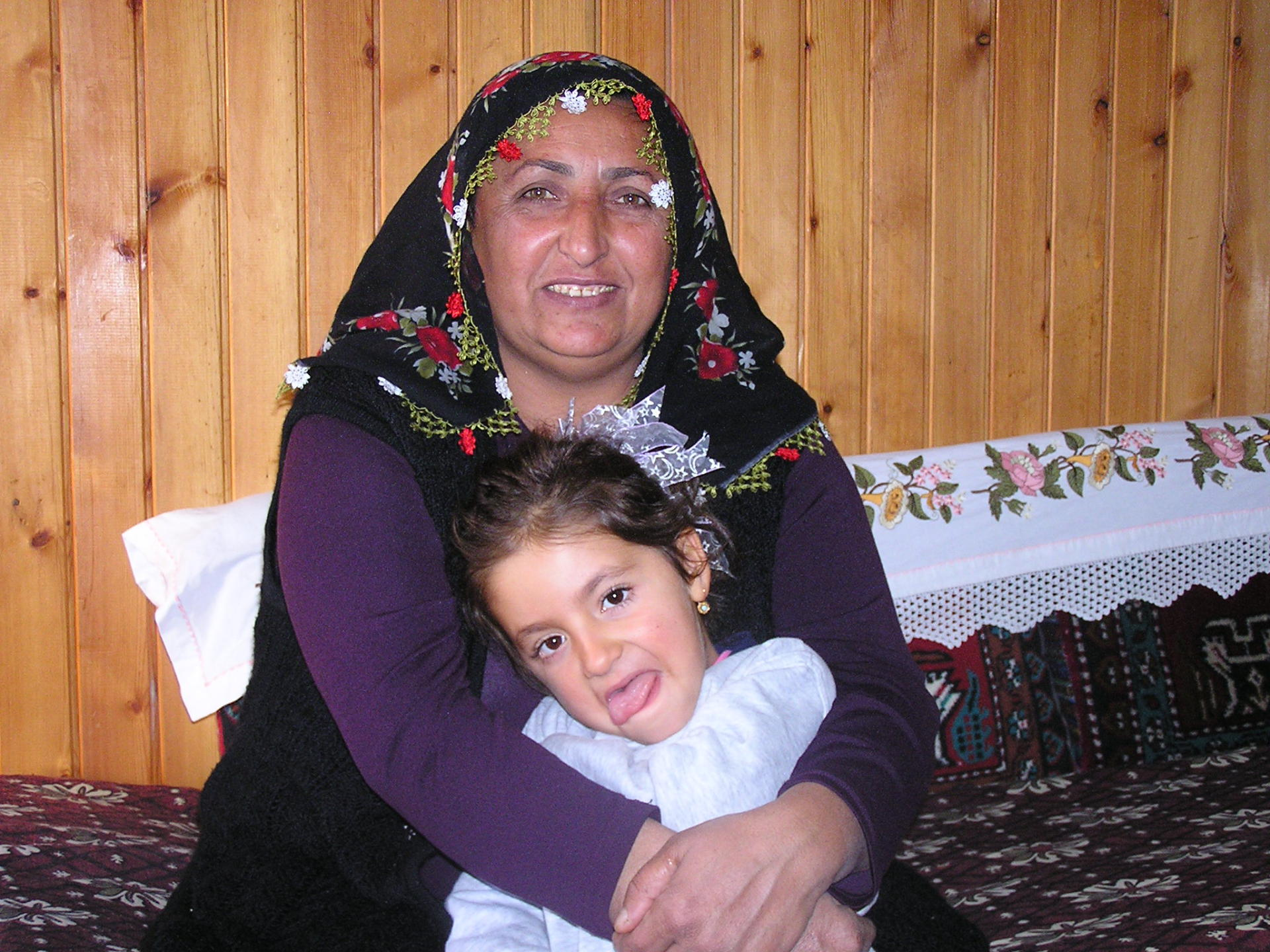 A Turkish grandmother welcomes us into her home in Göreme. Cappadocia, Turkey, chap 44, You must only to love them. http://mershon.wordpress.com