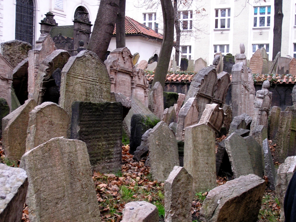 Prague's Jewish cemetery nearly bursts with tombstones.Prague, Czech Republic: chapter 49, You must only to love them. http://mershon.wordpress.com