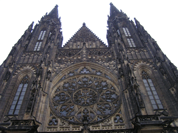 Prague's stunning St. Vitus Cathedral- Prague, Czech Republic: chapter 49 You must only to love them. http://mershon.wordpress.com