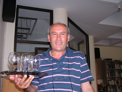 Even our beloved bartender, Şakir Bey, was retiring from Koç. Istanbul, Turkey: chapter 58, You must only to love them. http://mershon.wordpress.com