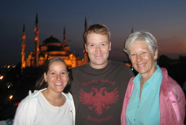 My son Dustin and his partner Aly made the trip from the U.S. Istanbul, Turkey: chapter 59, You must only to love them. http://mershon.wordpress.com.